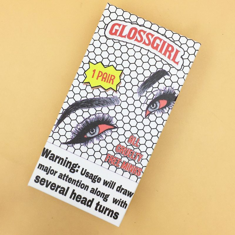Backwoodz Eyelash Packaging