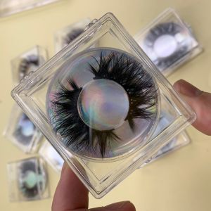 Square Acrylic Eyelash Cases
