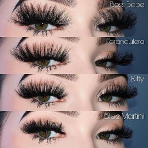 Eyelash Vendors Wholesale Luxury Mink Lashes