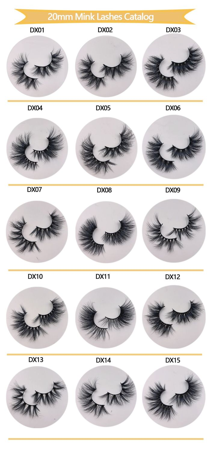 Wholesale Mink Lashes 20mm (1)