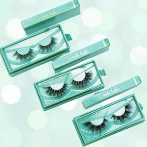 Custom Eyelash Green Boxes