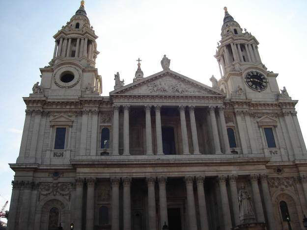 Fachada da Catedral de Saint Paul. Foto: Marcelle Ribeiro.
