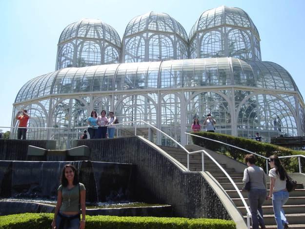 Jardim Botânico de Curitiba. Foto: Guilherme Calil