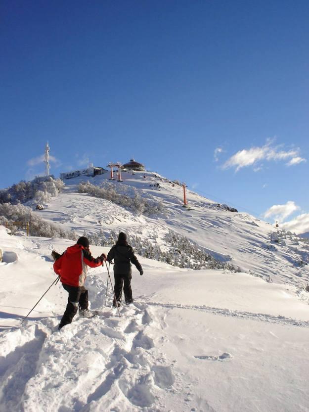 caminhada neve cerro otto o que fazer em Bariloche