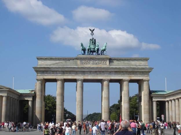 portão de brademburgo o que fazer em berlim