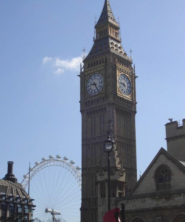 Relógio Big Ben, em Londres. Foto: Marcelle Ribeiro. Relógio Big Ben, em Londres. Foto: Marcelle Ribeiro.
