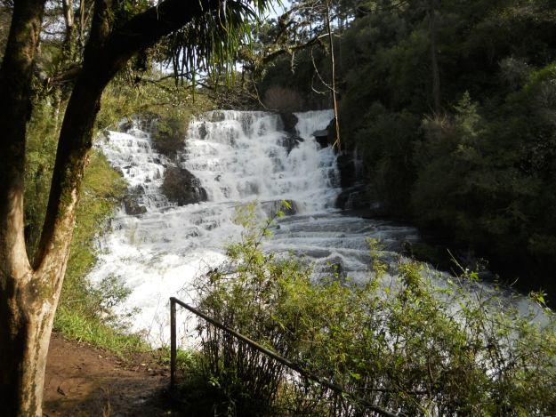 Corredeiras da Cachoeira do Caracol. Foto: Marcelle Ribeiro