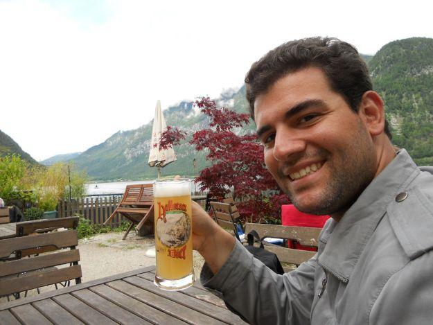 cerveja restaurante hallstatt