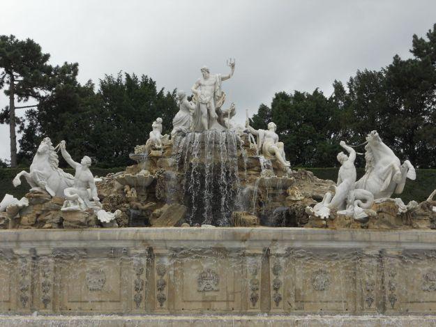 chafariz jardim de Schonbrunn