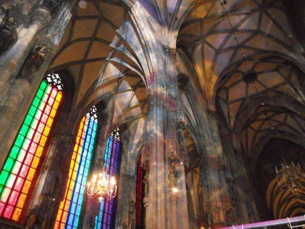vitrais igreja Stephansdom