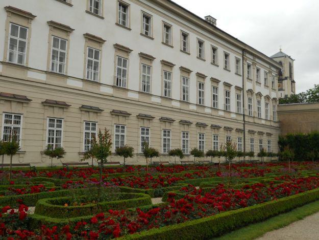 fachada castelo Mirabell