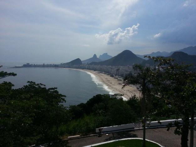 praia copacabana Forte do leme