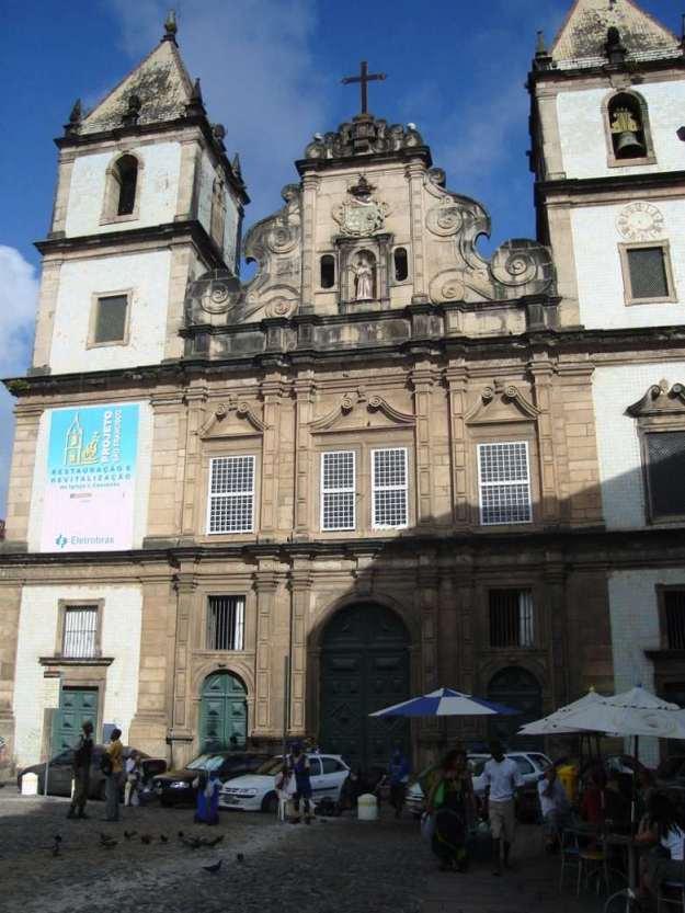 centro historico de salvador igreja e convento