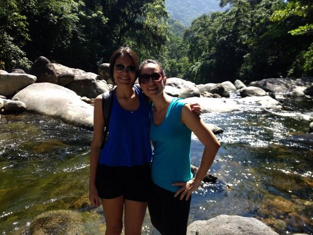 Irmãzinhas no Poço da Preguiça, Parque Nacional da Serra dos Órgãos. Foto: Marcelle Ribeiro