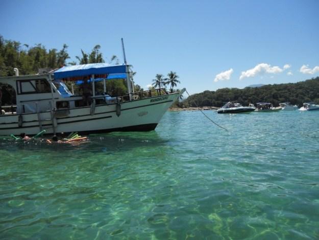 meia volta ilha grande lagoa azul