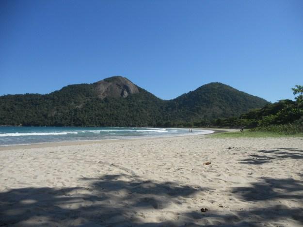 Praia de Dois Rios, em Ilha Grande. Foto: Marcelle Ribeiro