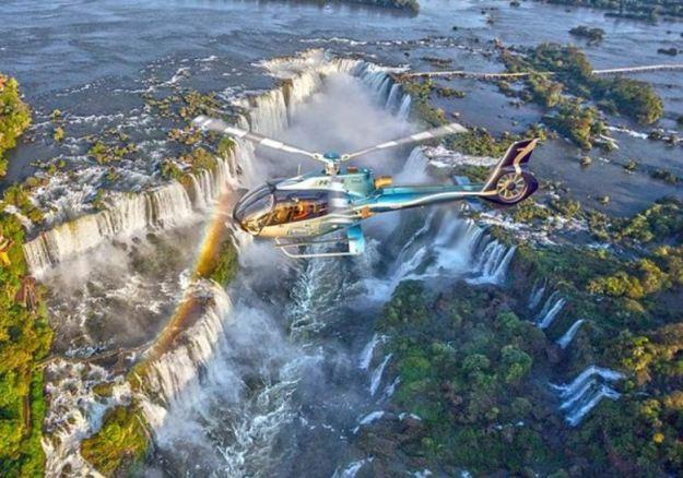 pontos turisticos de foz do iguacu helicoptero