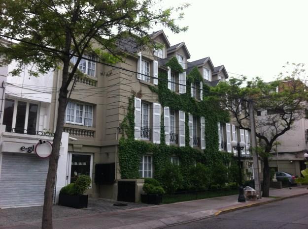 Hotel em Santiago. Foto: Adelia Ribeiro