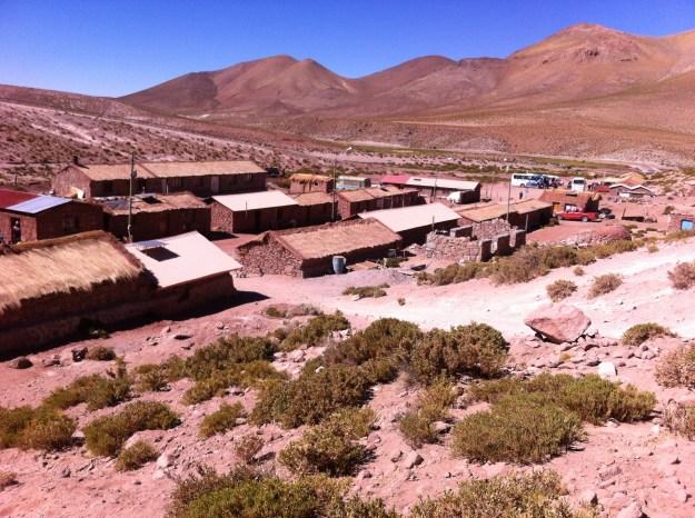 Povoado de Machuca, no Atacama. Foto: Adelia Ribeiro