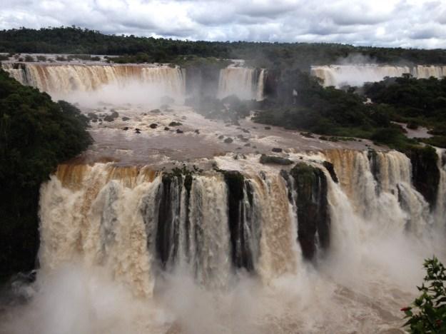 Cataratas do Iguaçu. Foto: Marcelle Ribeiro