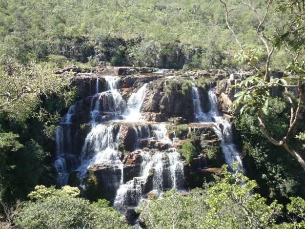 Cachoeira de Almécegas 1, na Chapada dos Veadeiros
