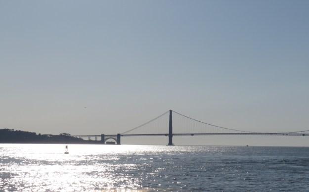 Vista de San Francisco a partir da Ilha de Alcatraz. Foto: Marcelle Ribeiro
