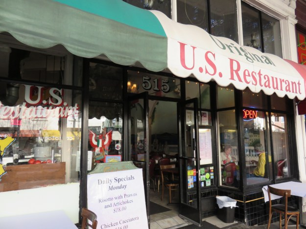 U.S. Restaurant, em North Beach. Foto: Marcelle Ribeiro