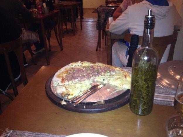 pizza da cidade onde comer em paraty