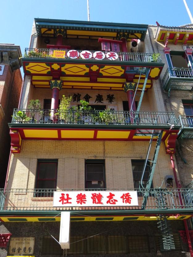 Tin How Temple, em Chinatown, San Francisco. Foto: Marcelle Ribeiro