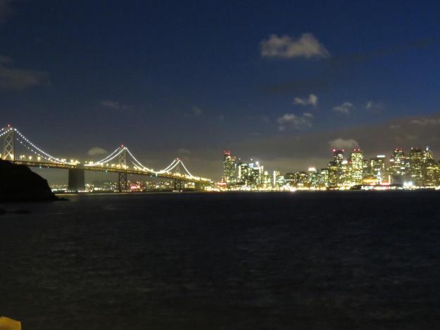 Luzes de San Francisco. Foto: Marcelle Ribeiro