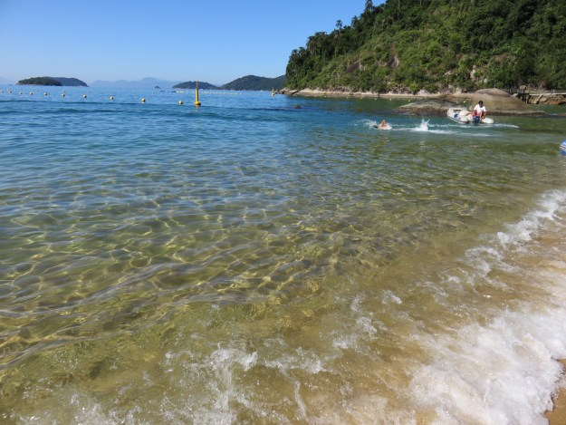 Praia da Conceição, em Paraty. Foto: Marcelle Ribeiro