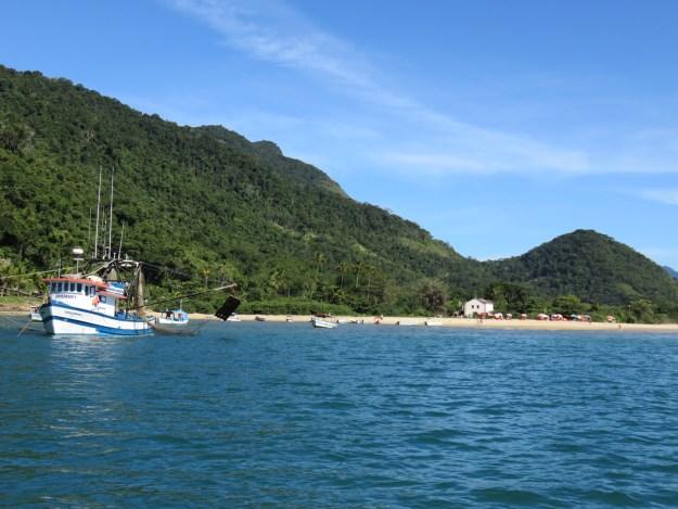 Praia do Cruzeiro, no Saco do Mamanguá, em Paraty. Foto: Marcelle Ribeiro