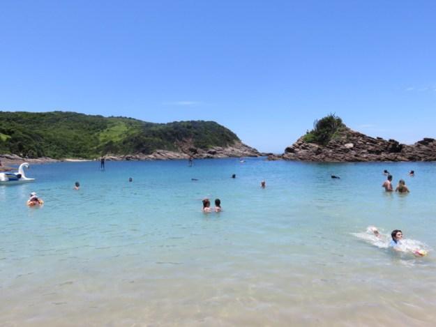 melhores praias de búzios ferradurinha