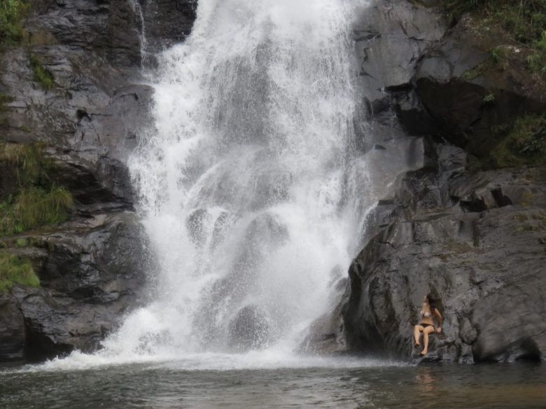 Cachoeira de Santo Izidro. Foto: Marcelle Ribeiro