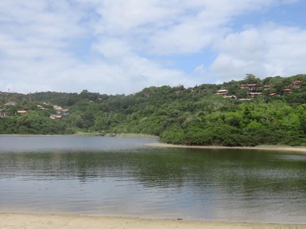 Lagoa do Meio, entre o Rosa Norte e o Rosa Sul. Foto: Marcelle Ribeiro.