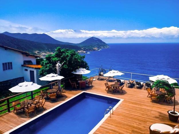 piscina pousada vista turquesa onde ficar em arraial do cabo