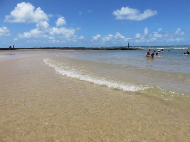 Praia de Barra do Cunhaú. Foto: Marcelle Ribeiro.