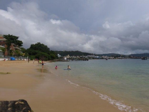 praias de bombinhas praia embrulho