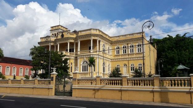 Palácio Rio Negro, em Manaus. Foto: Marcelle Ribeiro.