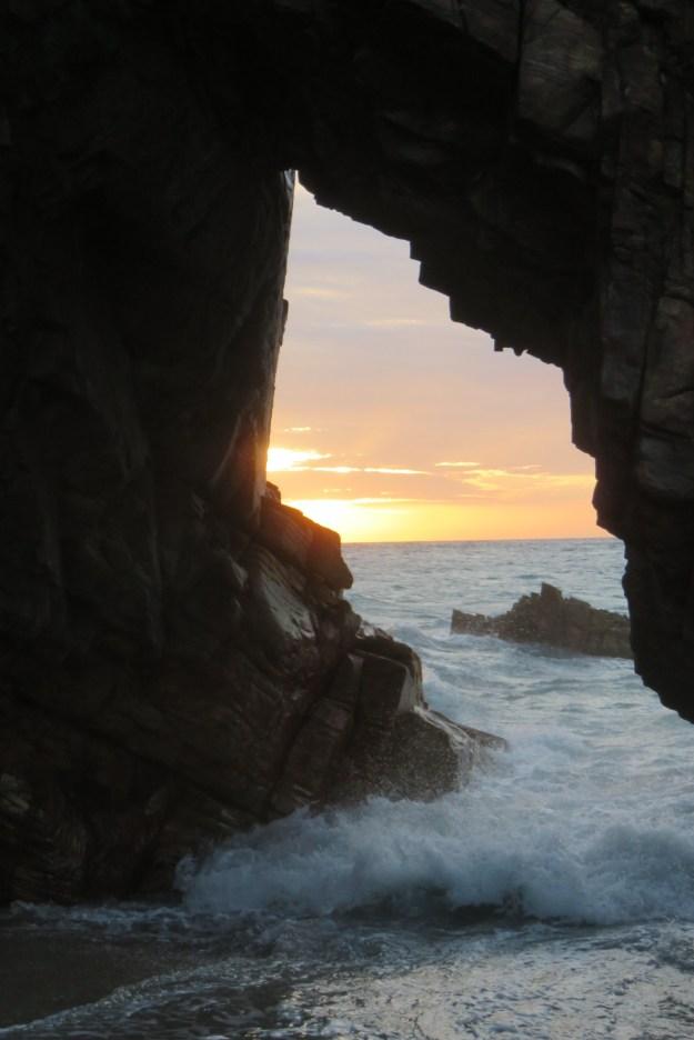Pedra Furada, em Jericoacoara. Foto: Marcelle Ribeiro.