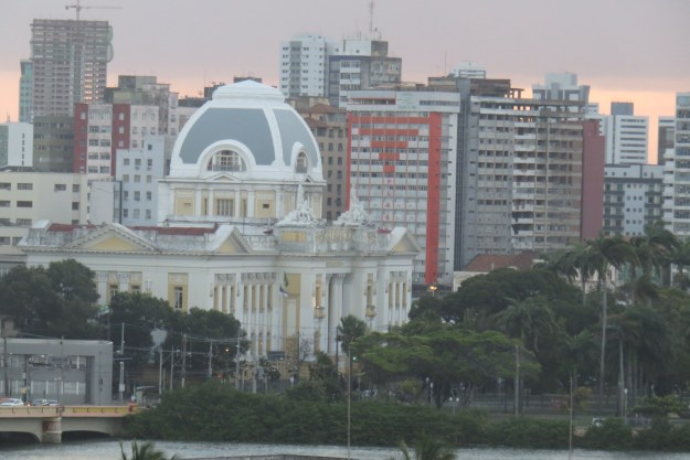 Centro histórico visto da Torre Malakoff. Foto: Marcelle Ribeiro.