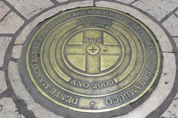 centro historico de recife marco zero