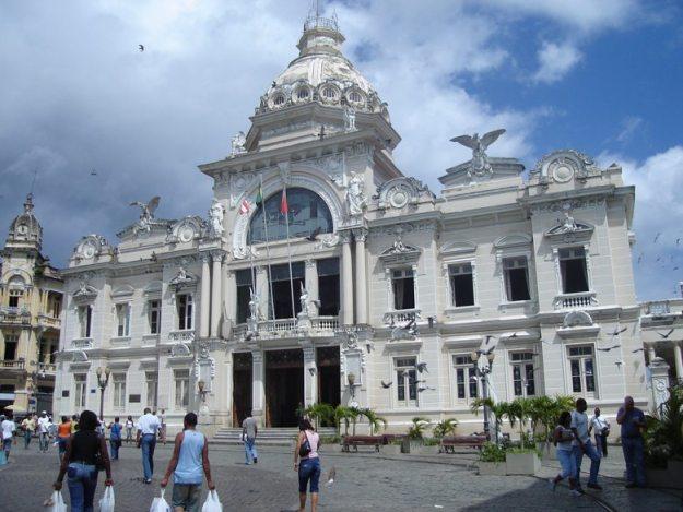 centro historico de salvador palacio rio branco