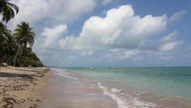 O maravilhoso mar da praia do Patacho. Foto: Marcelle Ribeiro