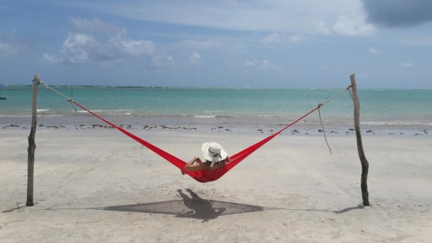 Aproveitando a vida boa na Praia do Riacho. Foto: Guilherme Calil