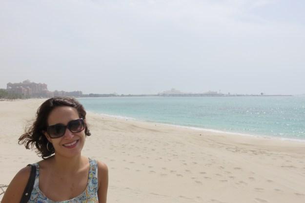 Corniche Beach, em Abu Dhabi. Foto: Guilherme Calil.