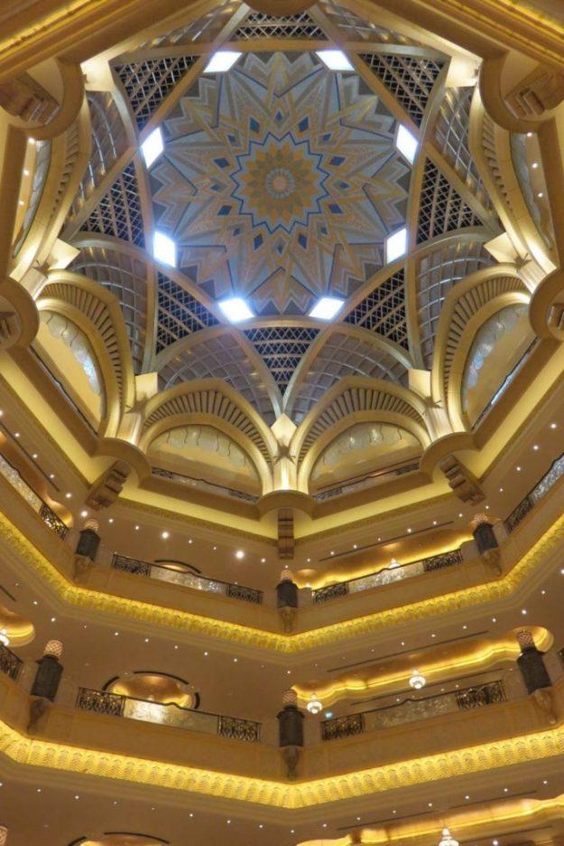 Emirates Palace Hotel, em Abu Dhabi. Foto: Marcelle Ribeiro