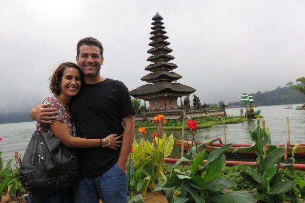 viagem para indonesia templo pura ulun danu bratan