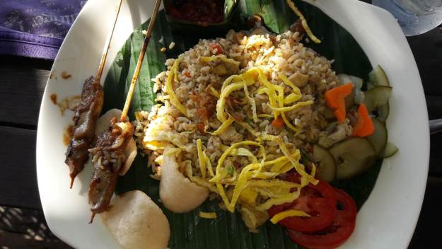 Nasi Goreng é um prato típico da Indonésia. Foto: Marcelle Ribeiro
