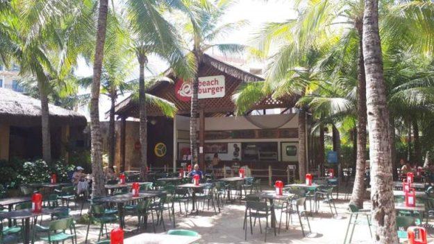 beach park dicas onde comer